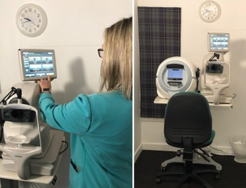 NEW Retinal scan at Scotts Opticians