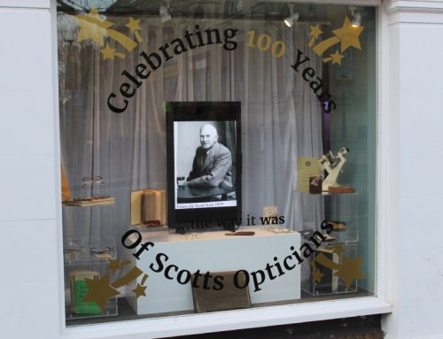 We're celebrating 100 years of Trading at Scotts Opticians'